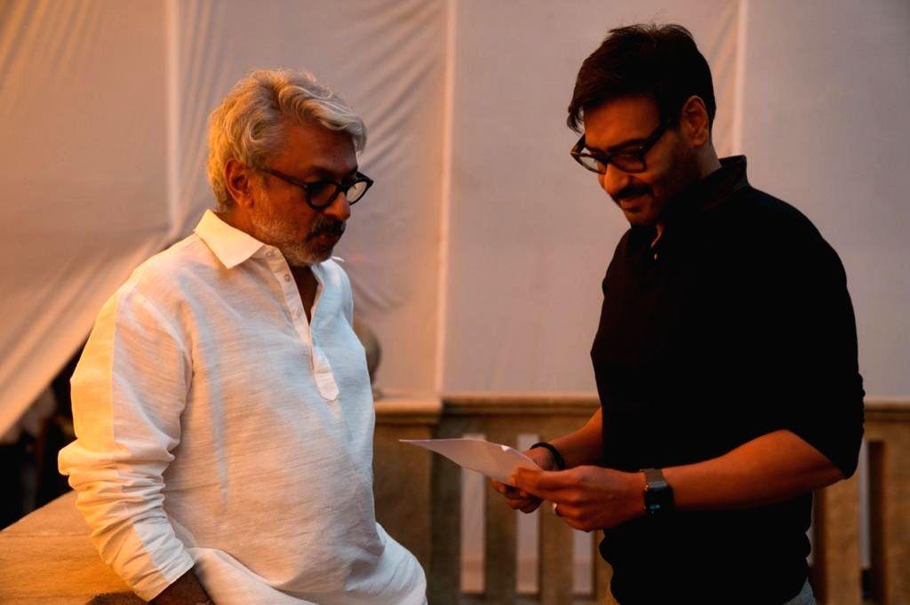 Ajay Devgn starts shooting for Bhansali's 'Gangubai Kathiawadi'
