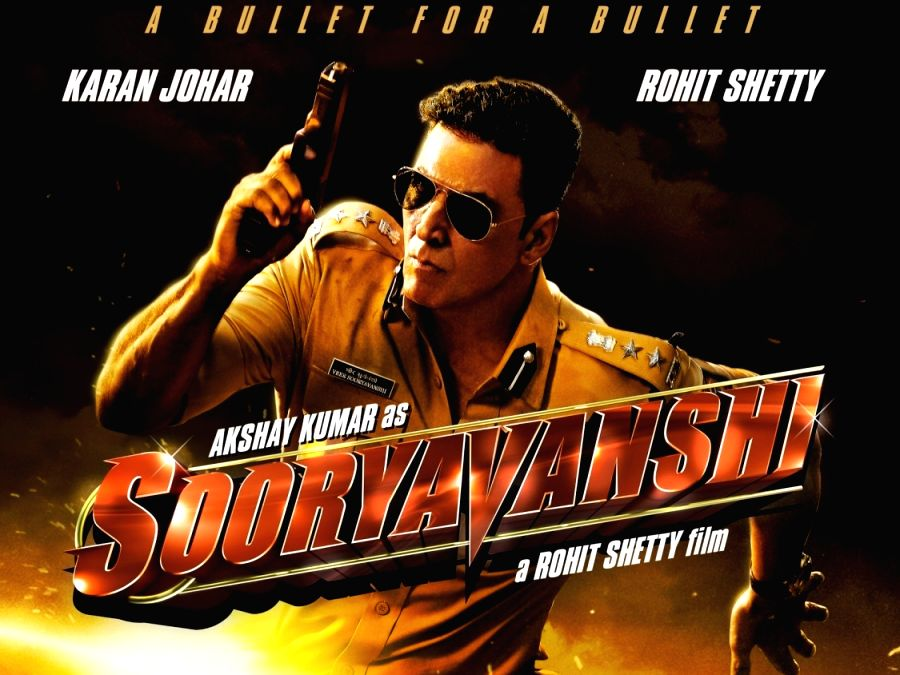 Akshay Kumar in upcoming film Sooryavanshi
