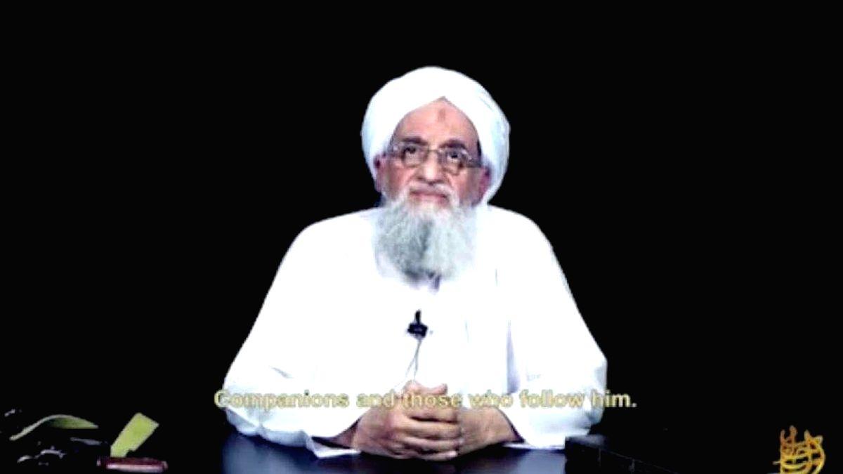 Al Qaeda chief Ayman Al-Zawahiri.