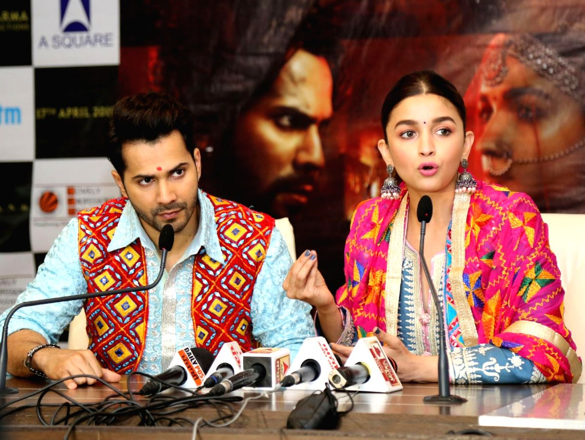 Alia Bhatt and Varun Dhawan.