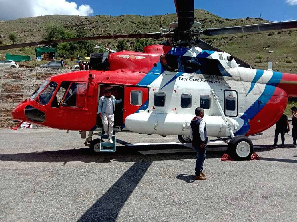 All stranded people rescued in Himachal, CM deploys new chopper.