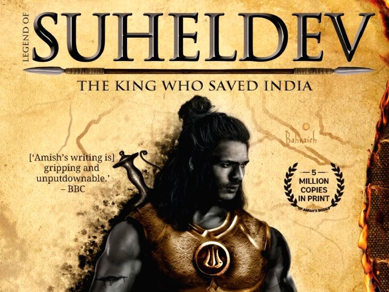 Amish Tripathi launches new book 'Legend of Suheldev'.