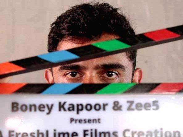 Amit Sadh starts shoot of digital project 'Zidd'.