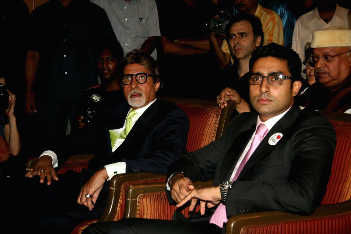 Amitabh Bachchan and Abhishek Bachchan