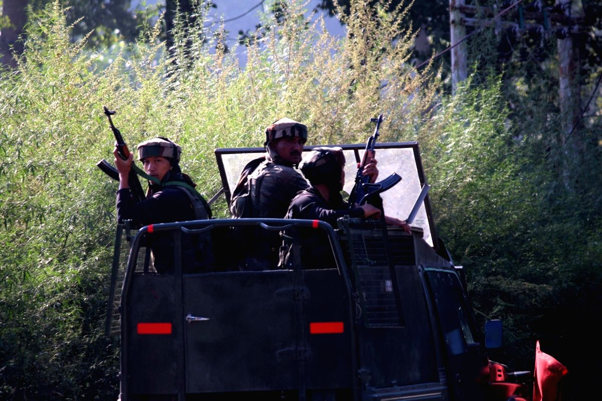 Anantnag:  Two militants were killed and three soldiers, including an Army officer, injured on Monday in a gunfight in Jammu and Kashmir's Anantnag district, police said.. (File Photo: IANS)