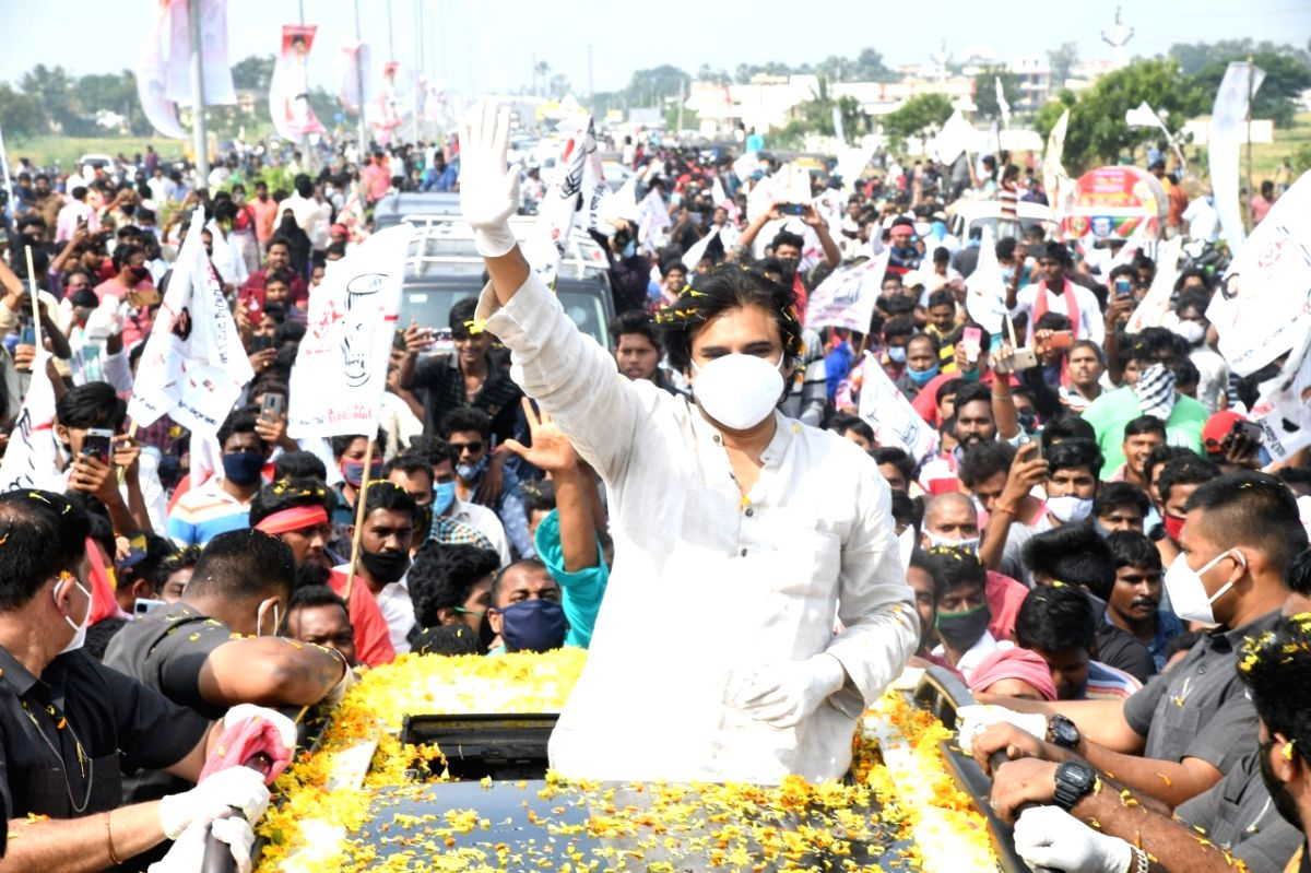 Andhra Government must give instant token monetary relief to farmers: Pawan Kalyan.