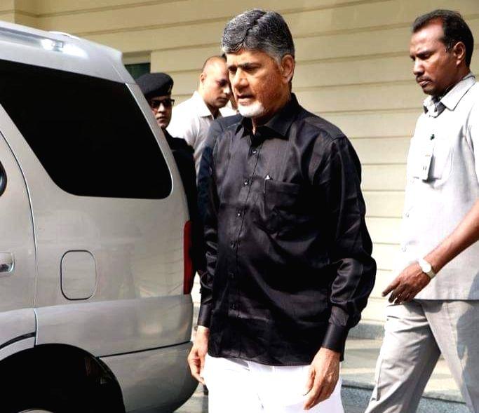 Andhra Pradesh Chief Minister and Telugu Desam Party (TDP) President N. Chandrababu Naidu