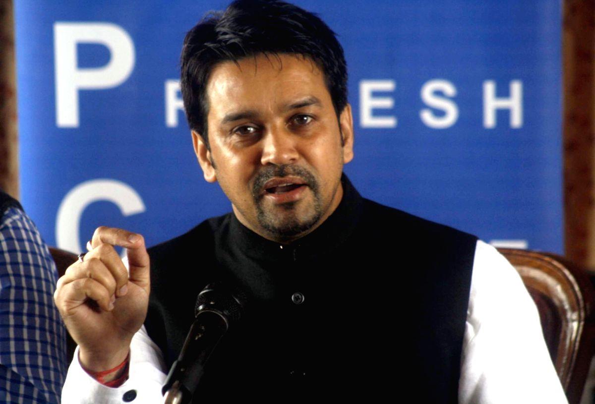 Anurag Thakur. (File Photo: IANS)