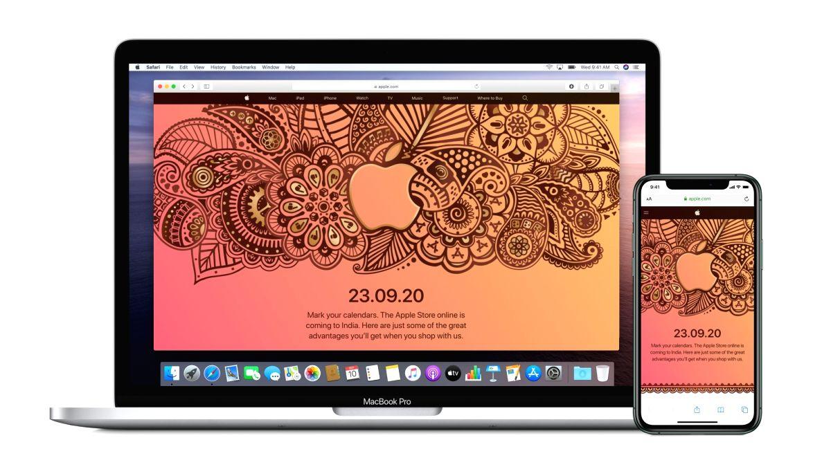 Apple rejigs its online store before mega launches