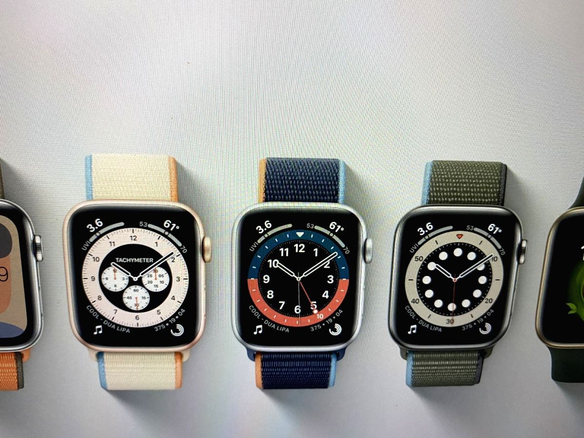 Apple watchOS 7 arrives with new Faces, handwashing help. (Photos: IANS)