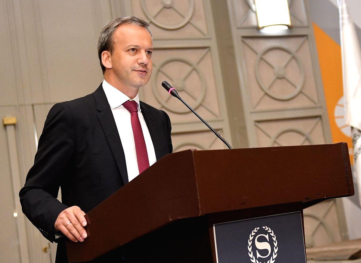 Arkady Dvorkovich.  (Xinhua/Tamuna Kulumbegashvili/IANS)