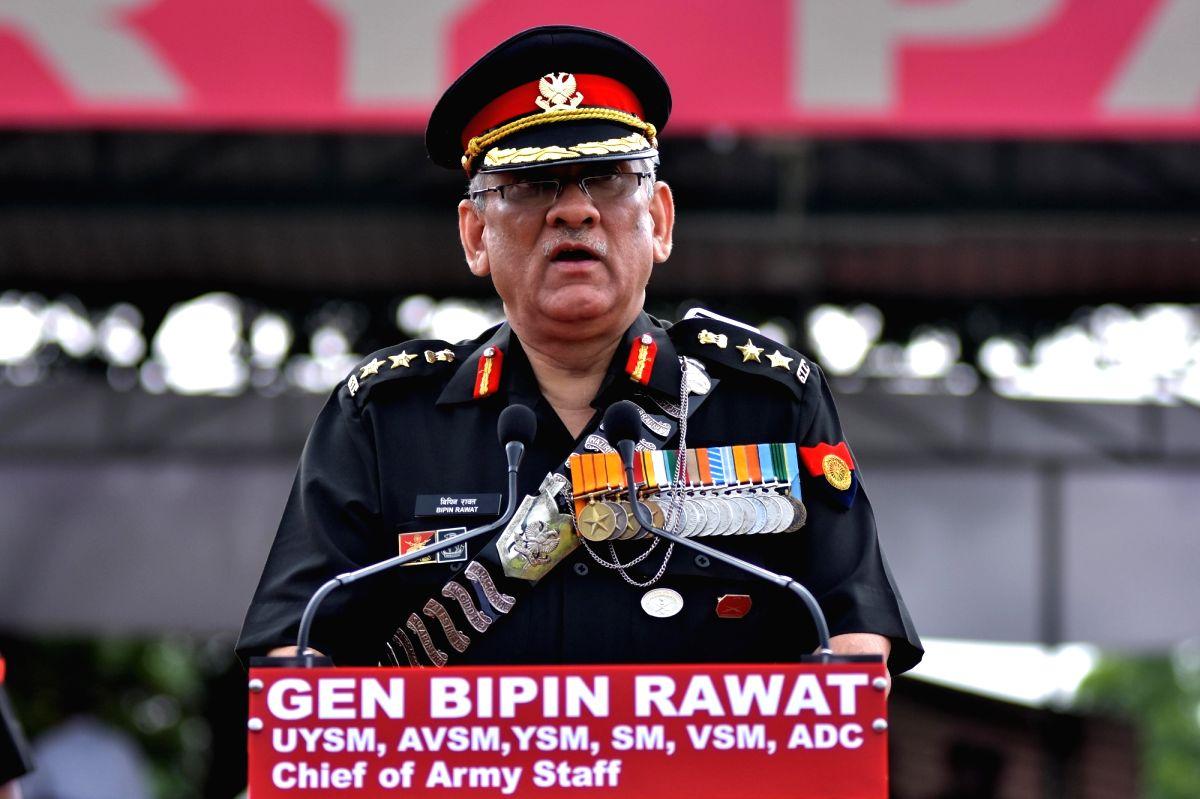Army chief General Bipin Rawat. (Photo: Ravi Shankar Vyas/IANS)