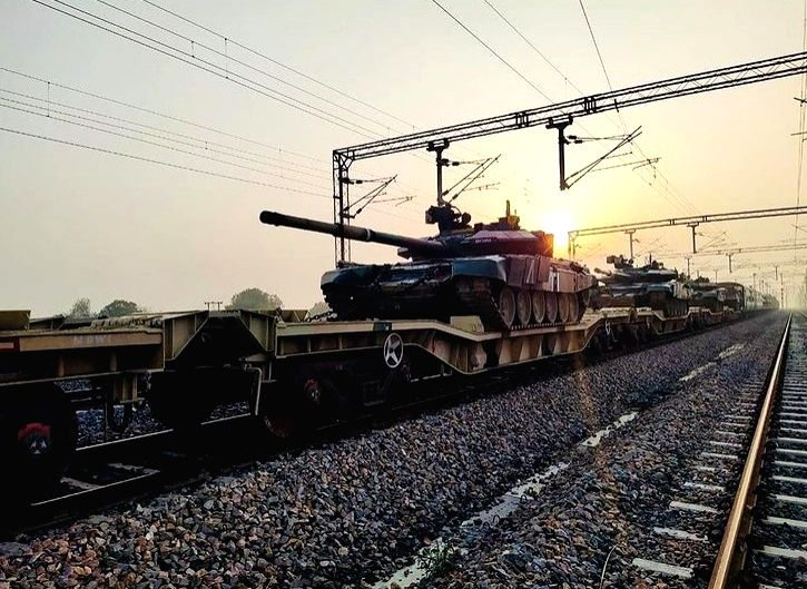 Army gets freight corridor for faster mobilisation of equipment.(photo: indianarmy.adgpiInstagram)