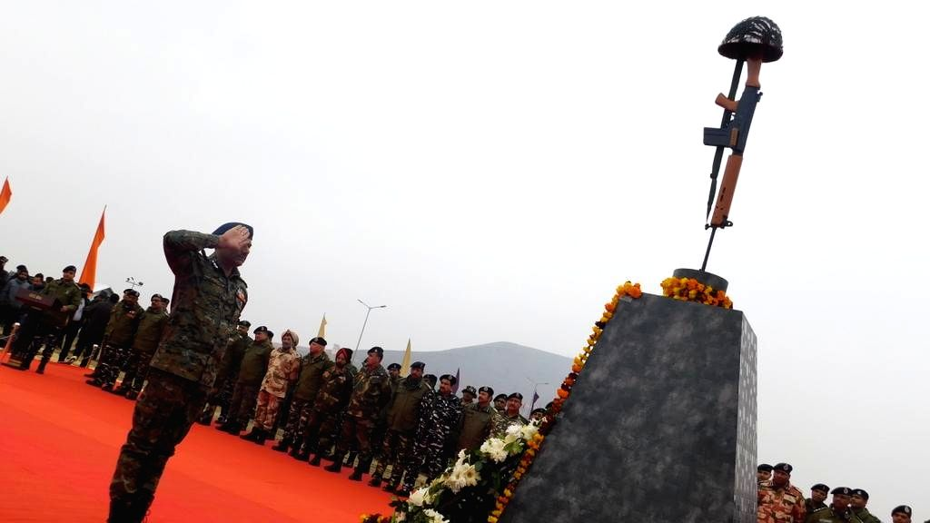 Army remembers martyrs who eliminated Pulwama mastermind.