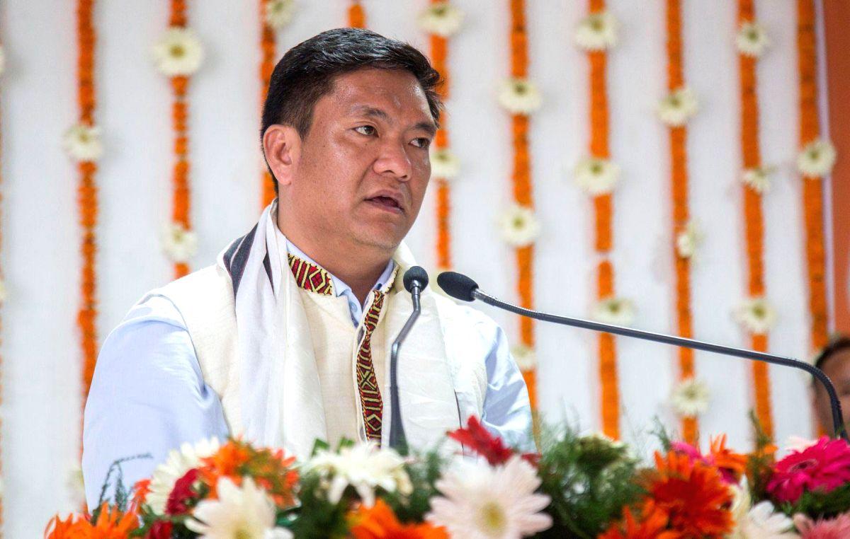 Arunachal Pradesh Chief Minister Pema Khandu . (File Photo: IANS)