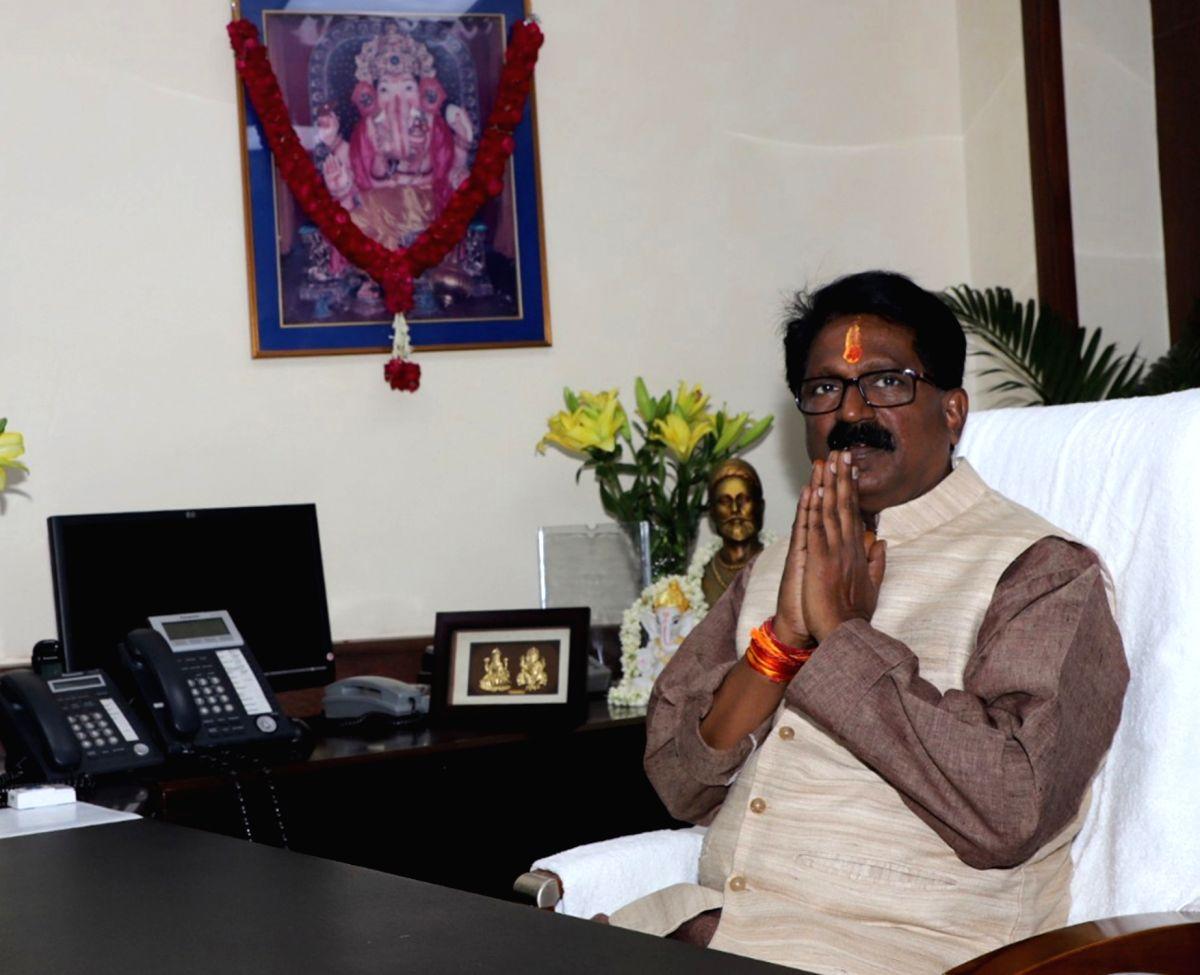 Arvind Ganpat Sawant. (Photo: IANS/PIB)