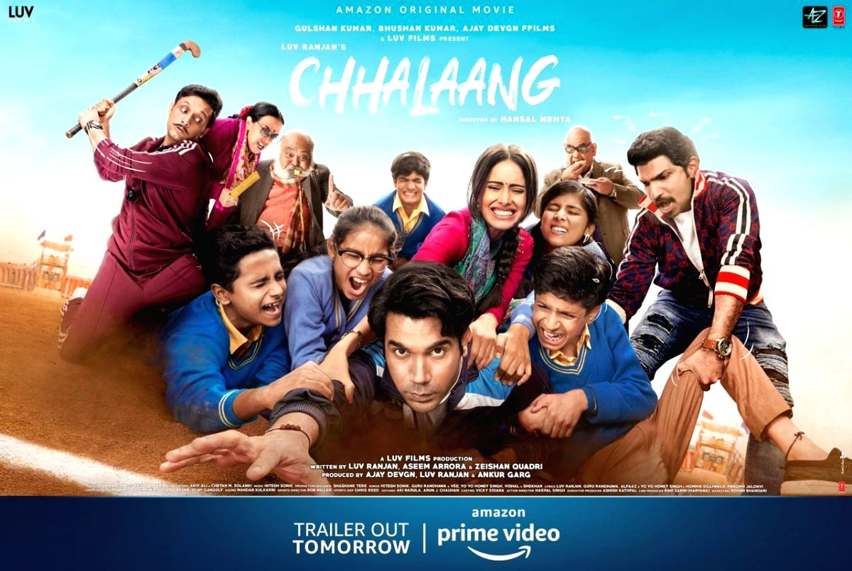"As a loving treat for children on this Children's Day, Team ""Chhalaang"" to come up with their honest experience of shooting with children"