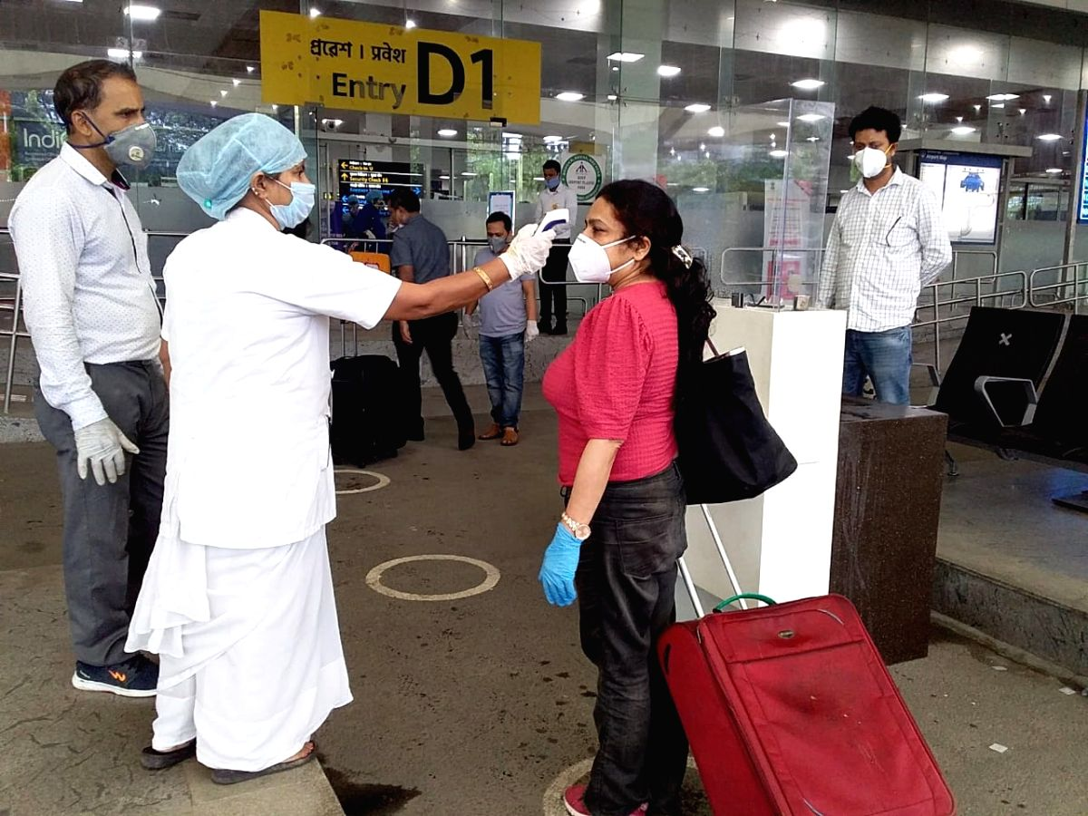 As many as 155 Indians deported by Kuwait landed in Guwahati in Assam on Friday and would be quarantined, officials said.