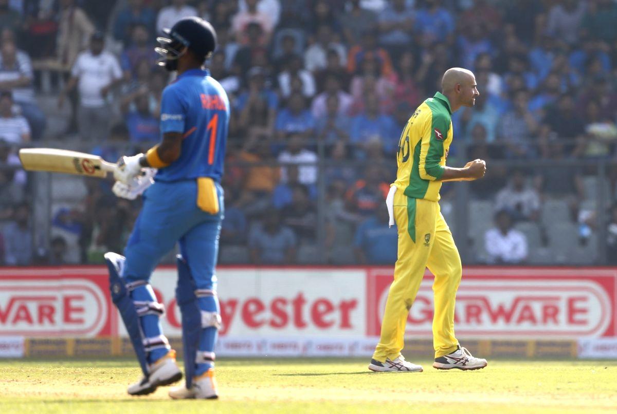 Ashton Agar. (Photo: Surjeet Yadav/IANS)