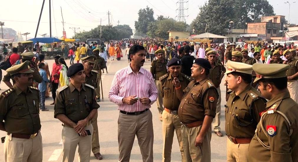 Ashutosh Pandey, ADG and in-charge of security and law and order arrangements in Ayodhya.
