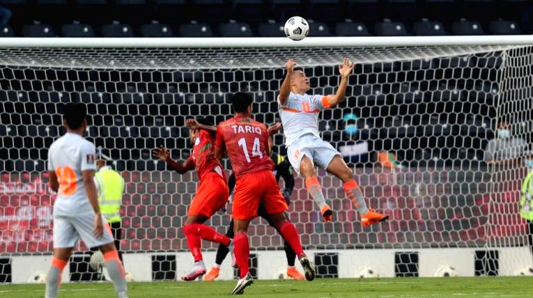 Asian Cup qualifiers: Chhetri nets 2 in India's win over Bangla
