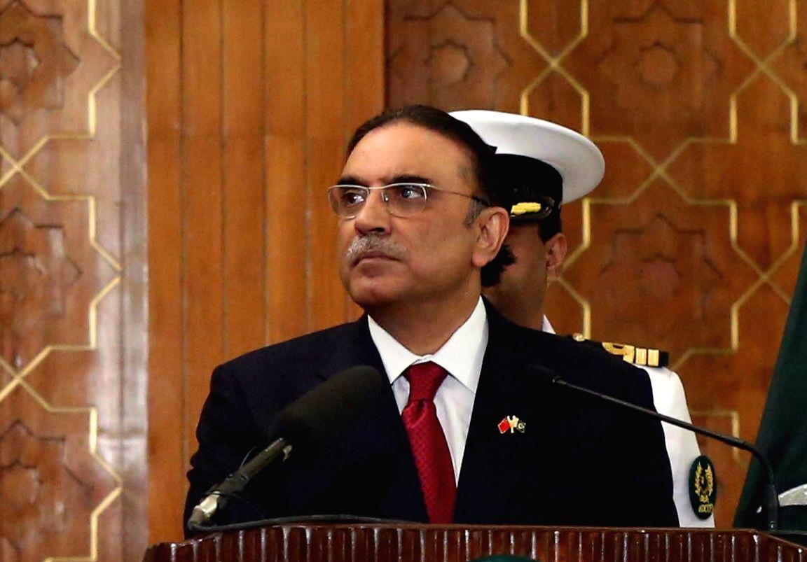 Asif Ali Zardari.(File Photo: IANS)