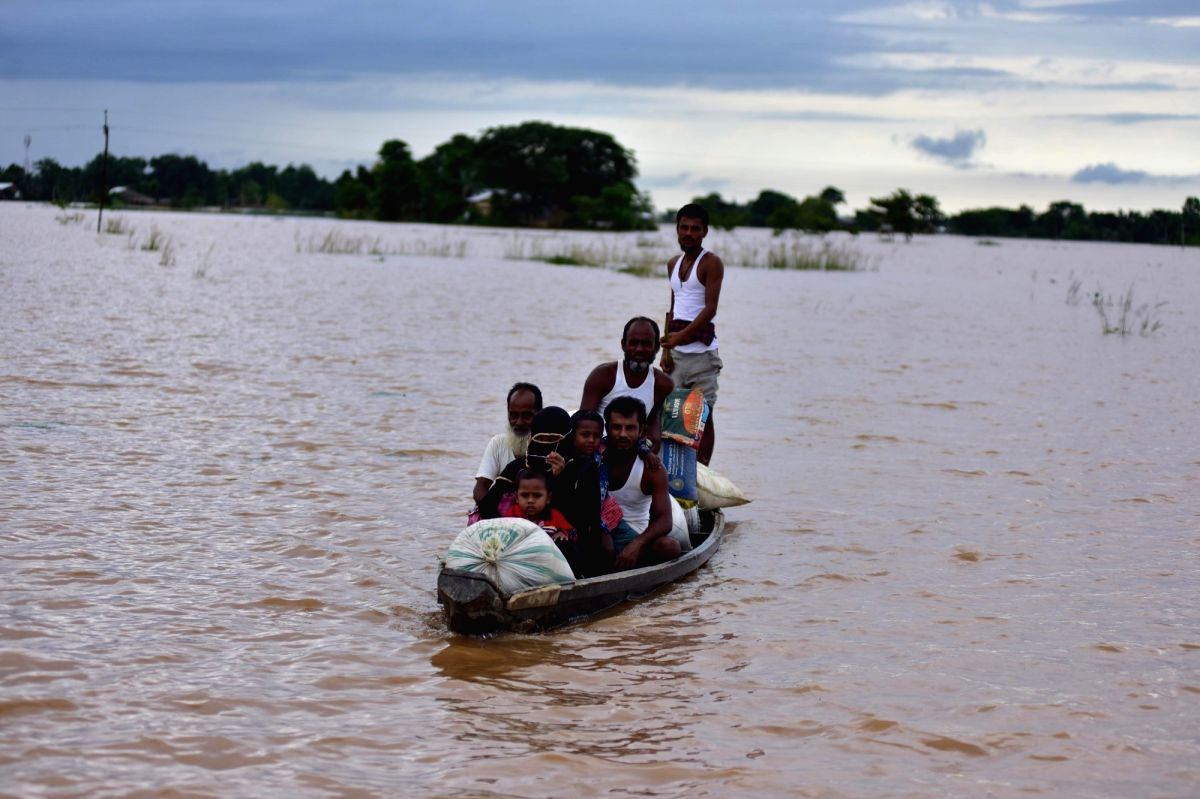 Assam flood situation improves further, affected tally dips