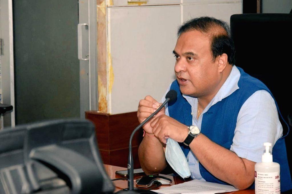 Assam Health Minister Himanta Biswa Sarma (Photo: twitter@himantabiswa)