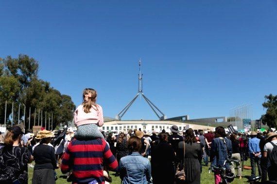 Aus PM accused of ignoring protest