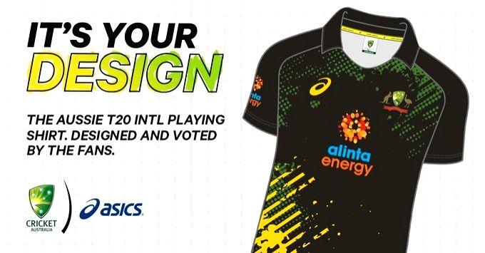 Australia unveil fan-designed 'Vibrant Evolutions' kit for T20Is.