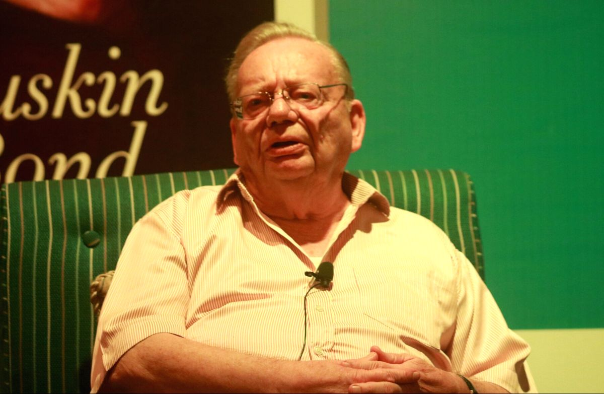Author Ruskin Bond