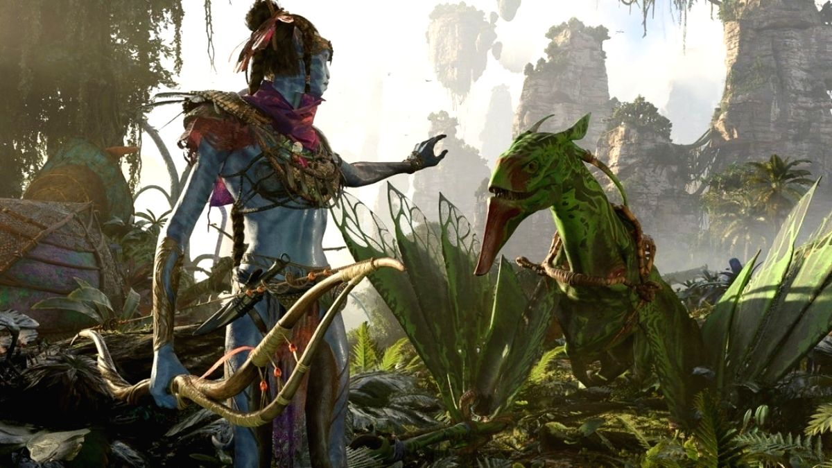 'Avatar: Frontiers of Pandora' game is arriving in 2022.