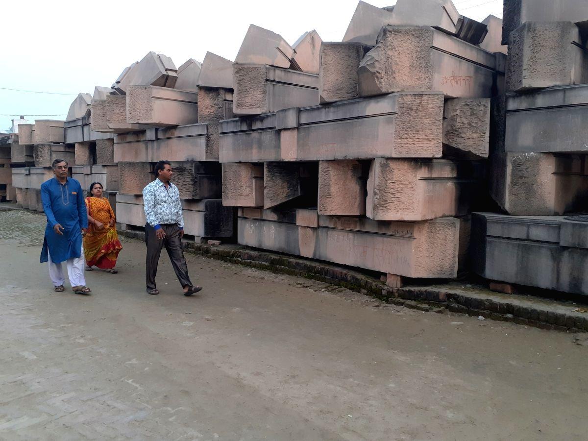 Ayodhya: A view of Karsewakpuram in Ayodhya on Nov 8, 2019.