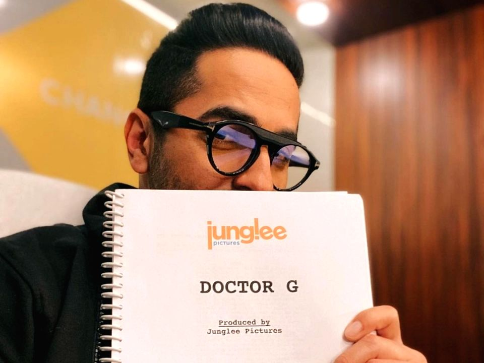 Ayushmann Khurrana starts shooting for Doctor G