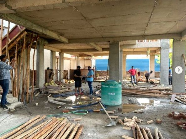 B Praak shares photo of under-construction residence, says God is kind