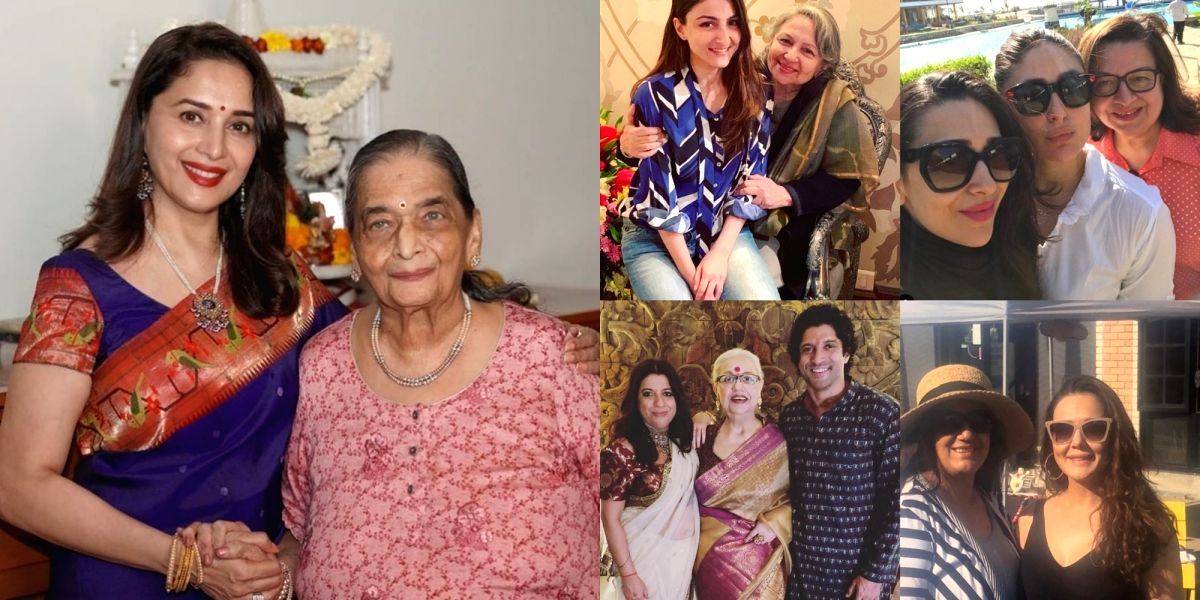 B'Town shares throwback pictures, messages on Mother's Day.(photo:instagram)