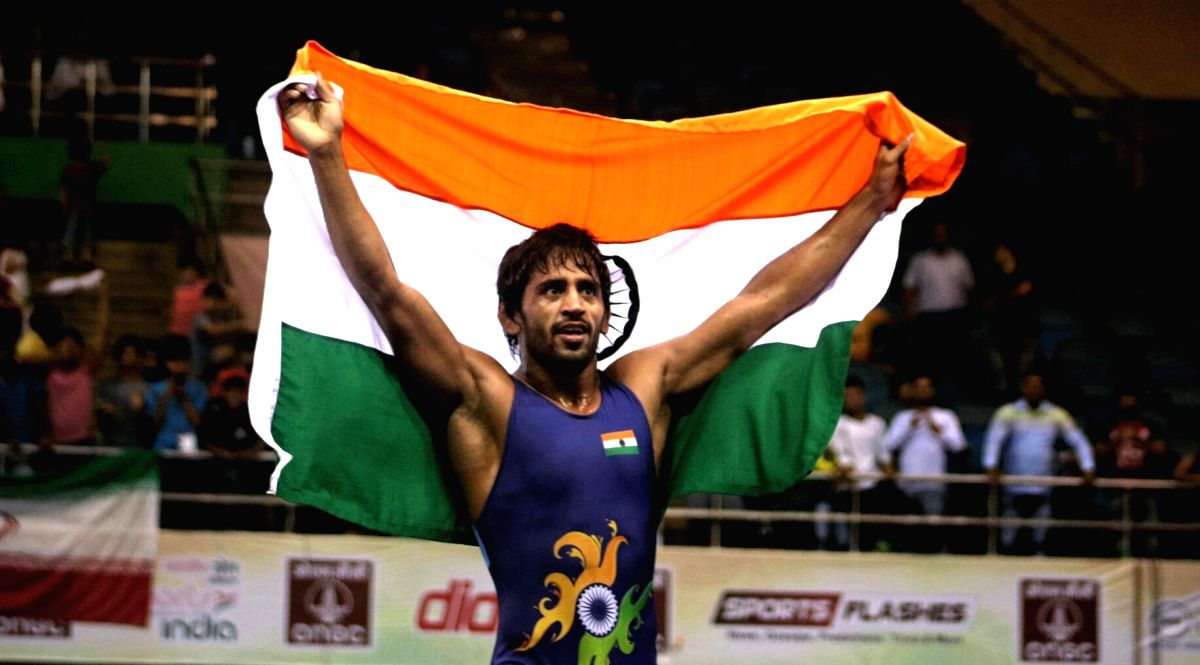 Bajrang Punia. (Photo: Bidesh Manna/IANS)