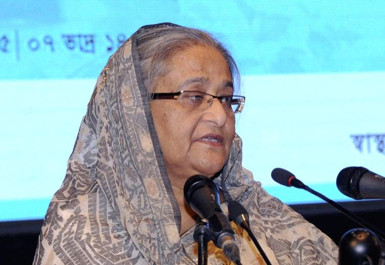 Bangladesh Prime Minister Sheikh Hasina. (File Photo: IANS)