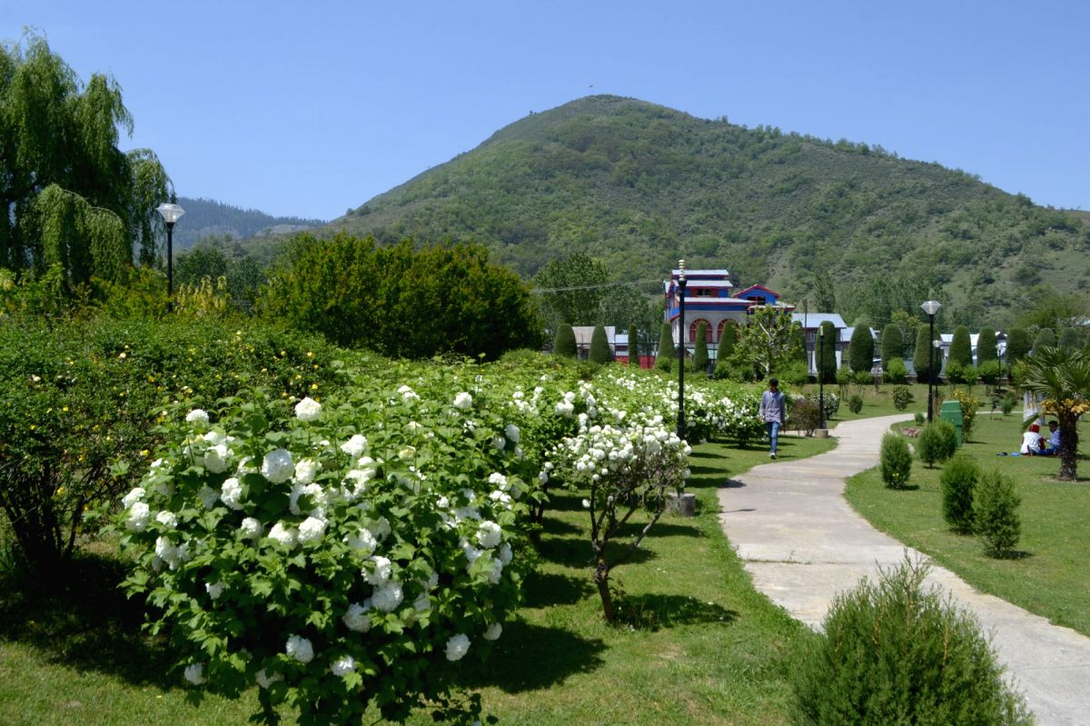 The  Gulnar Park in Baramulla of Jammu and Kashmir.