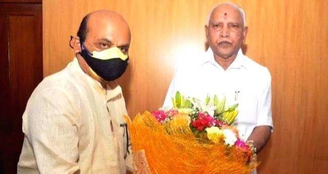 Basavaraj Bommai chosen as new Karnataka Chief Minister.