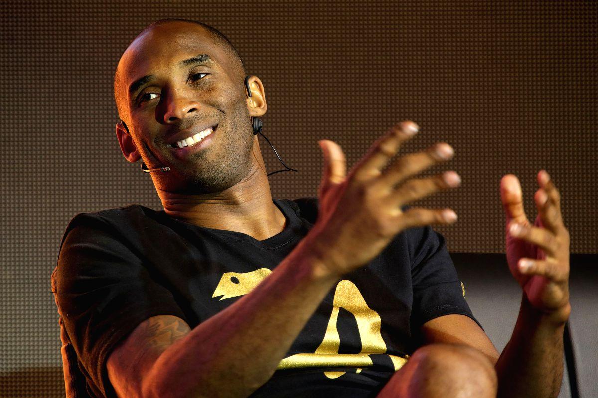 Basketball icon Kobe Bryant. (Xinhua/Rouelle Umali/IANS)