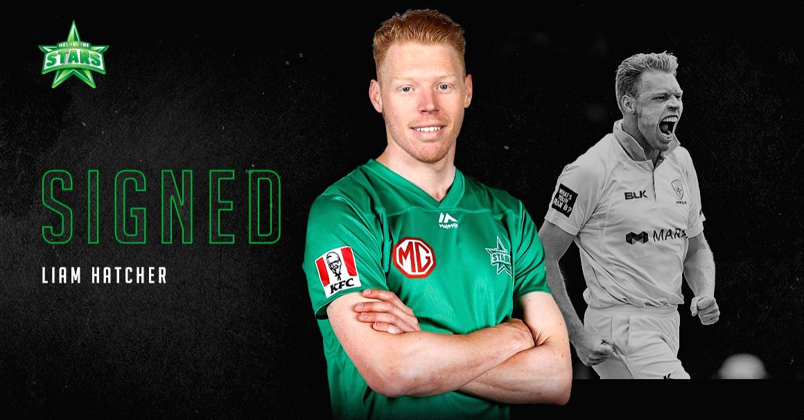 BBL: Melbourne Stars sign Hatcher, extend Larkin & Coleman deals