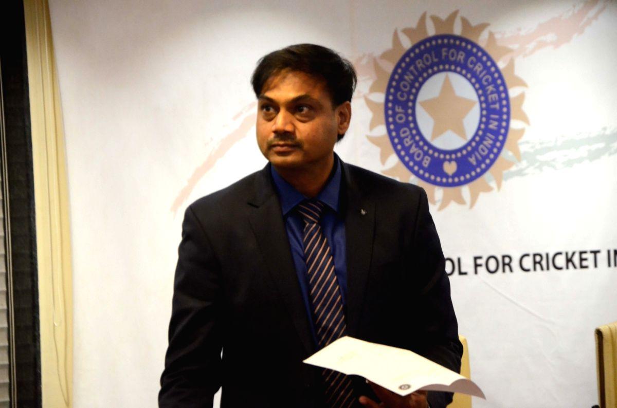 BCCI Selection Committee Chairman MSK Prasad.