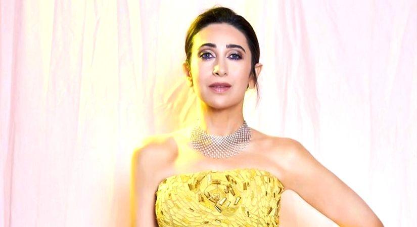 Beauty with Karisma Kapoor.