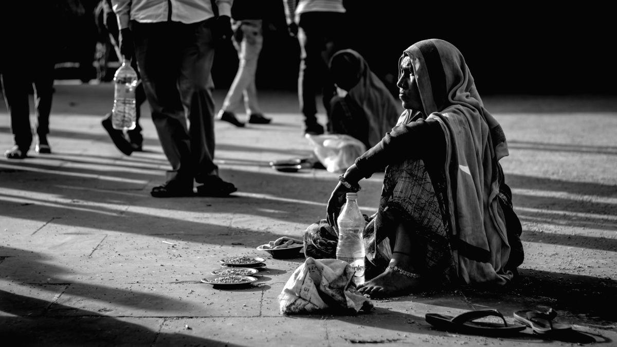 Beggar. (File Photo: IANS)