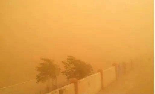 beijing : Sandstorm again in Mongolia.