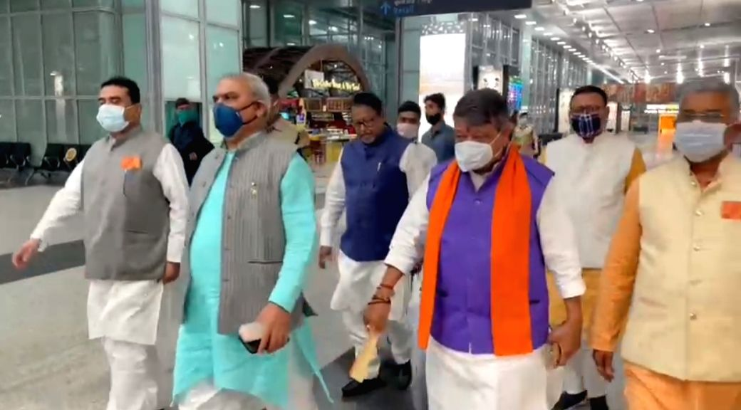 Bengal BJP leaders reach Delhi to finalise party candidates