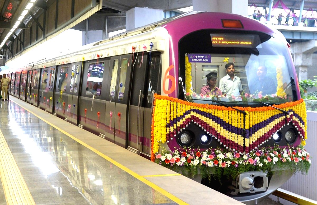 Bengaluru: Bengaluru Metro rail operator doubled coaches to six from three to ferry more commuters on the east-west Purple Line on June 22, 2018.