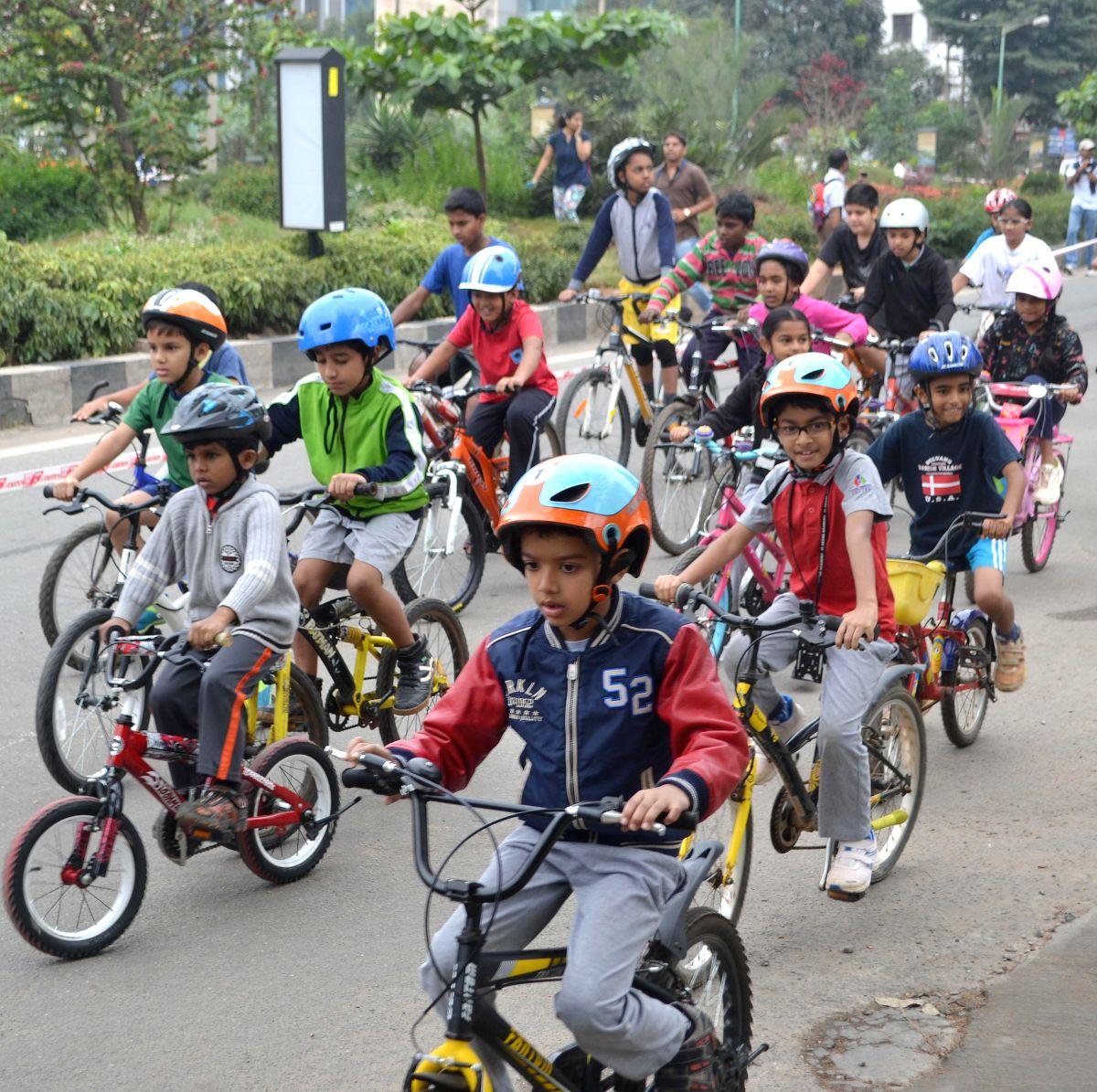Junior Bike Riders !!