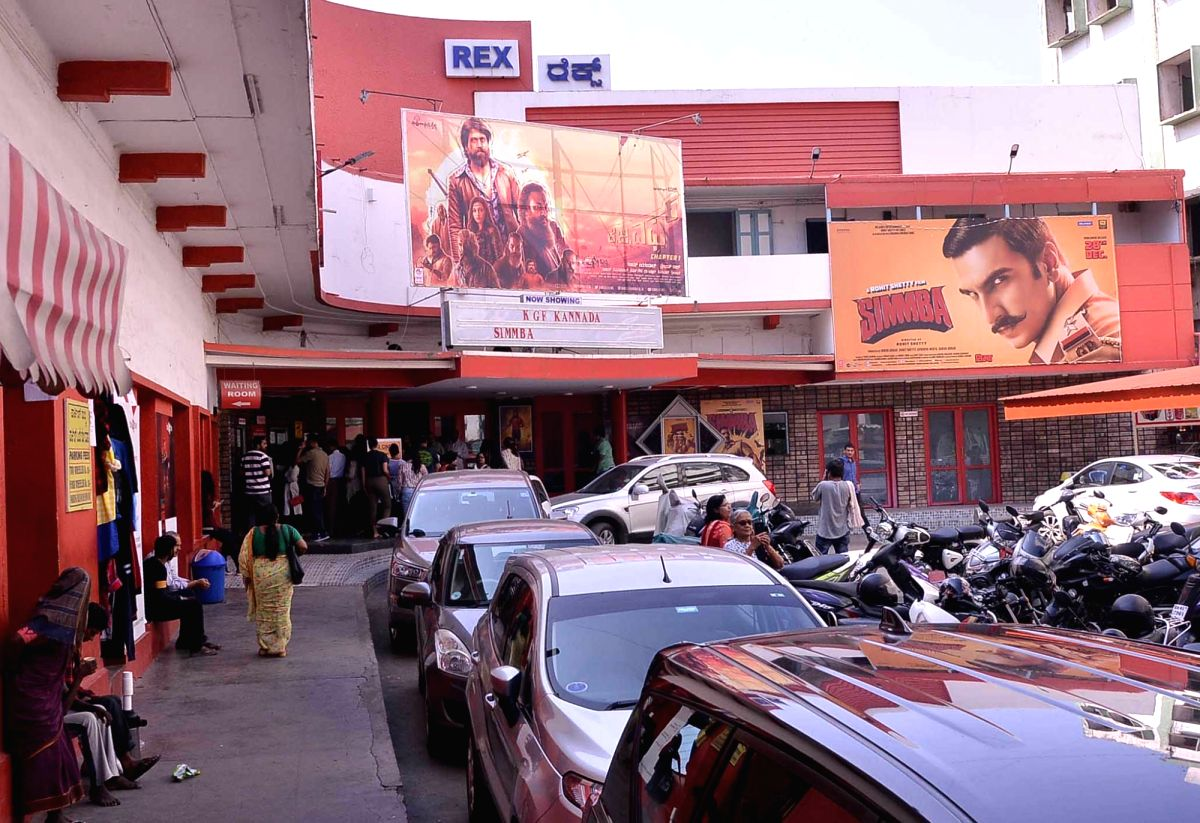 Bengaluru: Rex, one of the oldest single screen theaters in Bengaluru that will be shut down to make way for a multiplex; on Dec 31, 2018.